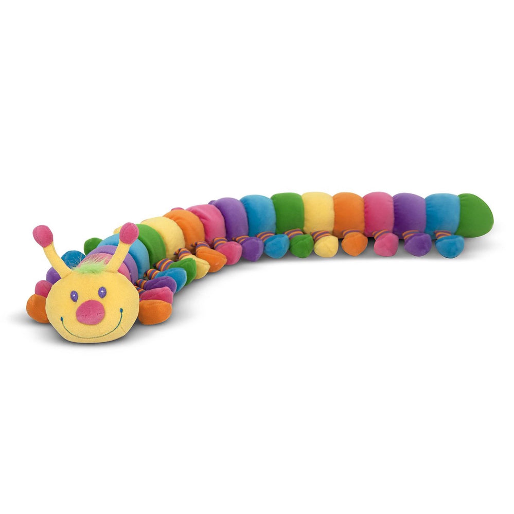 Melissa & Doug Longfellow Caterpillar Stuffed Animal