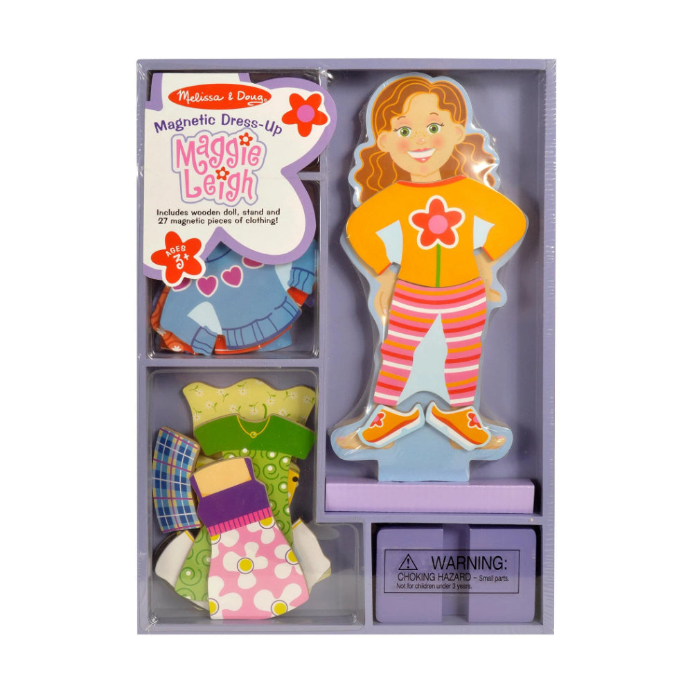 Melissa & Doug Maggie Leigh Magnetic Dress-Up Set
