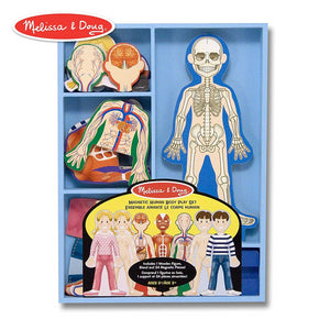 Melissa & Doug Magnetic Human Body Play Set