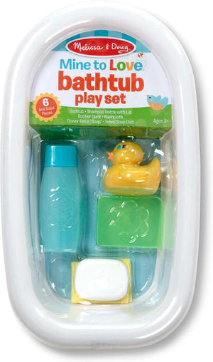 Melissa & Doug Mine to Love - Bathtub Play Set