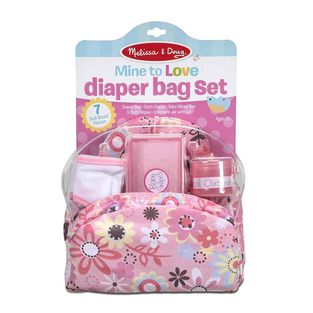 Melissa & Doug Mine to Love - Diaper Bag Set