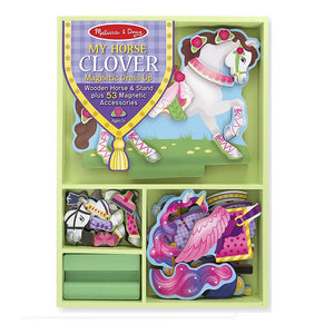 Melissa & Doug My Horse Clover Magnetic Dress-up1
