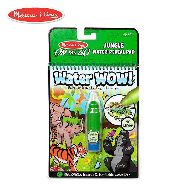 Melissa & Doug On The Go Water Wow Jungle
