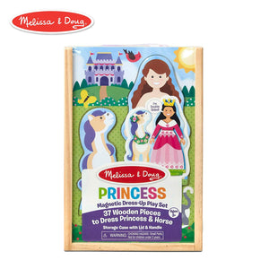 Melissa & Doug Princess Magnetic Dress-Up