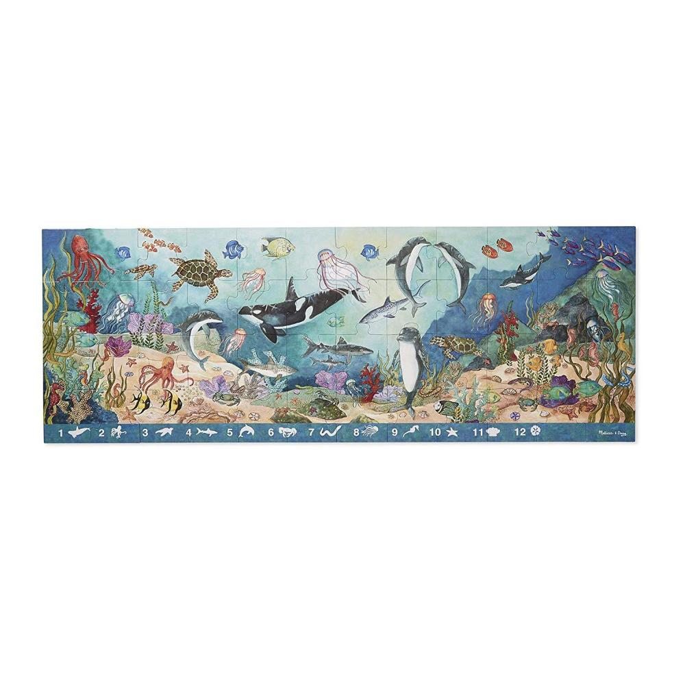 Melissa & Doug Search and Find Beneath the Waves Floor Puzzle (48 pc)