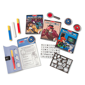 Melissa & Doug Secret Decoder - Deluxe Activity Set