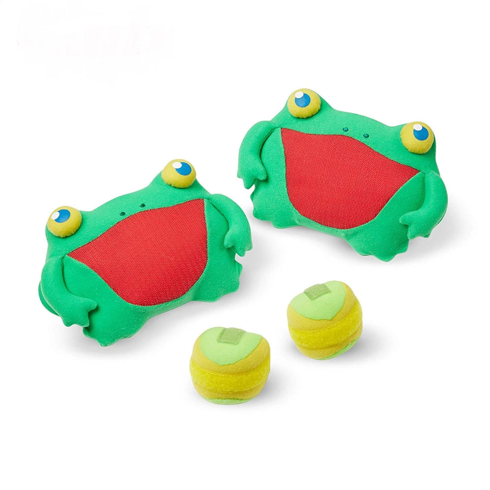 Melissa & Doug Skippy Frog Toss & Grip
