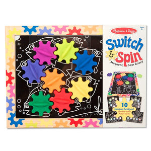 Melissa & Doug Switch & Spin Magnetic Gear Toy