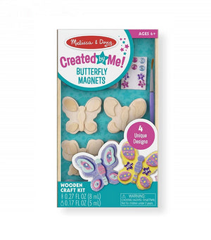 Melissa & Doug Wooden Butterfly Magnets