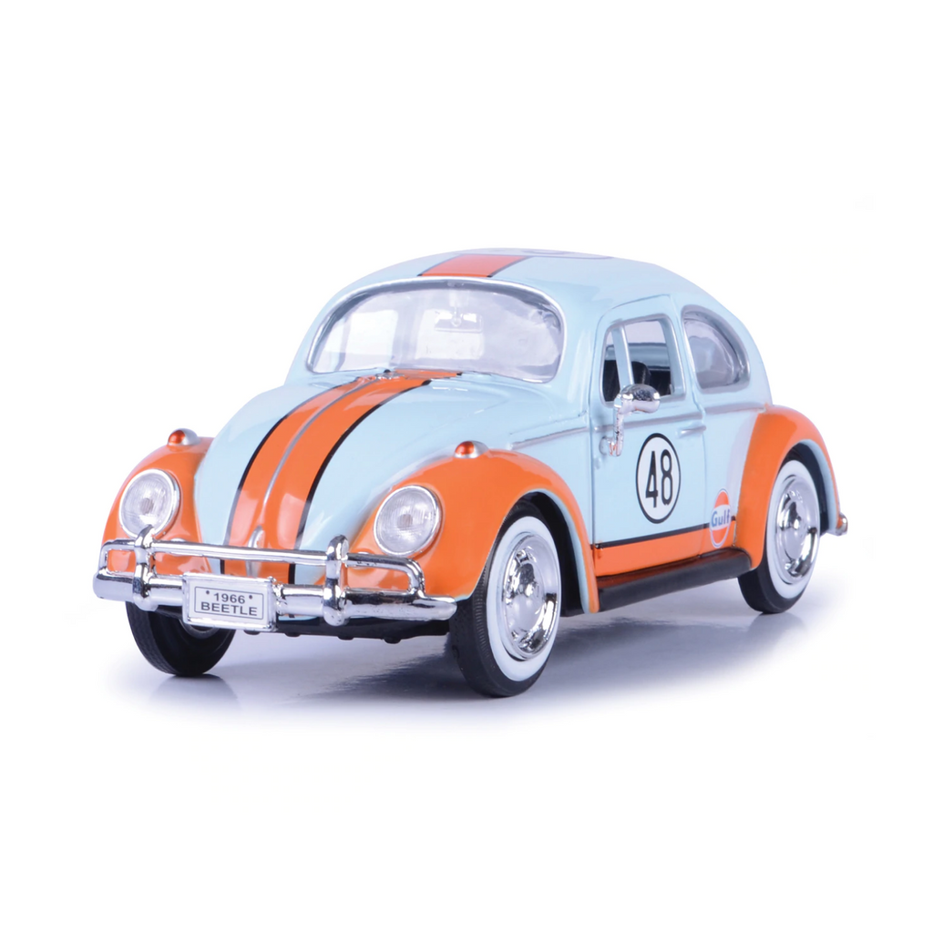 Motormax Volkswagen Beetle With Gulf Livery 1966 1:24 Scale Car