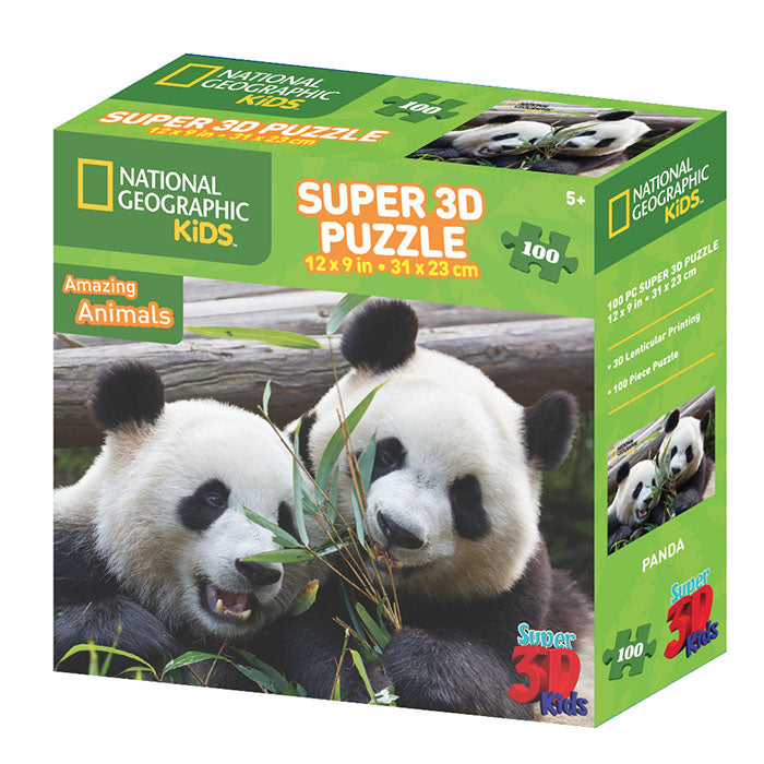 National Geographic 100pc Panda 3D Puzzle