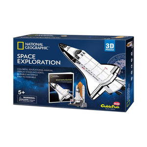 National Geographic - Space Exploration 3-D Puzzle