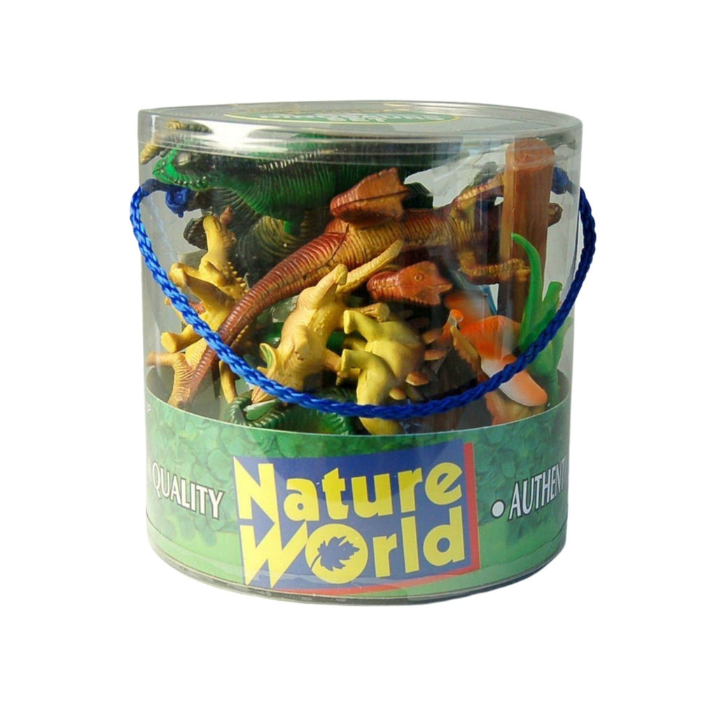 Nature World Dinosaurs In Case 18pcs