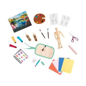 Our Generation Art Class Supplies Accessory Playset