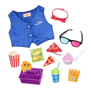 Our Generation Classic Cinema Accessory Set Cinema Snacks