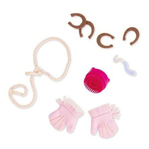 Our Generation Fashion Horse Accessory Lucky Horseshoes Kit