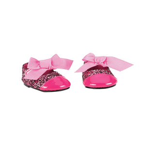 Our Generation Shoes for 18 inch Doll - Glittering Fuchsia