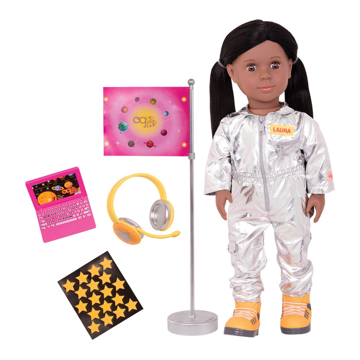 Our Generation Pro 18inch Astronaut Doll Laura