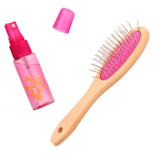 Our Generation Brush And Spray Bottle Set