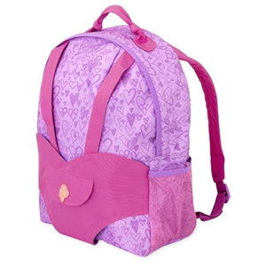 Our Generation Carrier Backpack Purple Hearts