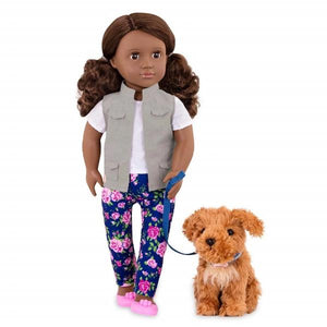 Our Generation Classic 18inch Doll Malia with Poodle