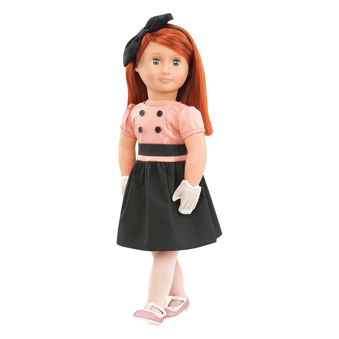 Our Generation Classic Doll Retro Joy 18 inch Head Red