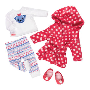 Our Generation Deluxe Pajama Set Snuggle Up