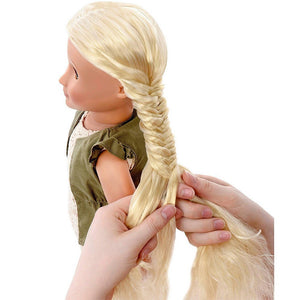 Our Generation HairPlay Doll Pia 18 inch Blonde
