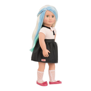 Our Generation Hair Play Doll Chalk Decoration Amya 18 inch Blonde
