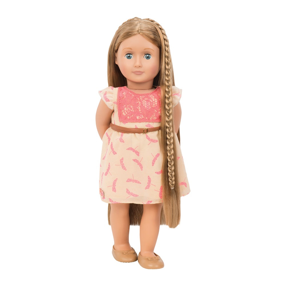 Our Generation Hairplay Doll Portia 18 inch Chestnut