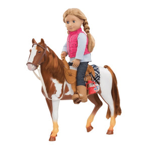 Our Generation Horse Appaloosa Trail Riding