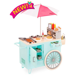 Our Generation Retro Hot Dog Cart