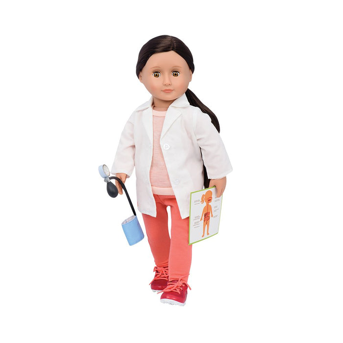 Our Generation Pro Family Doctor Doll Nicola 18 inch