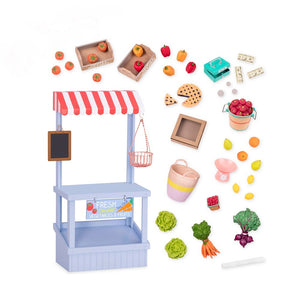 Our Generations Deluxe Farmers Market Playset