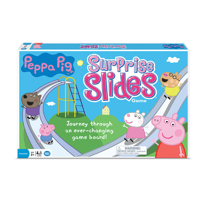 Pepppa Pig Surprise Slides Game