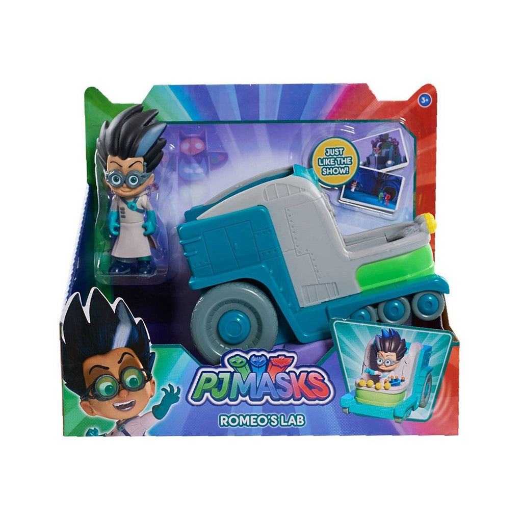 PJ Masks Romeo's Lab With Toy Figure