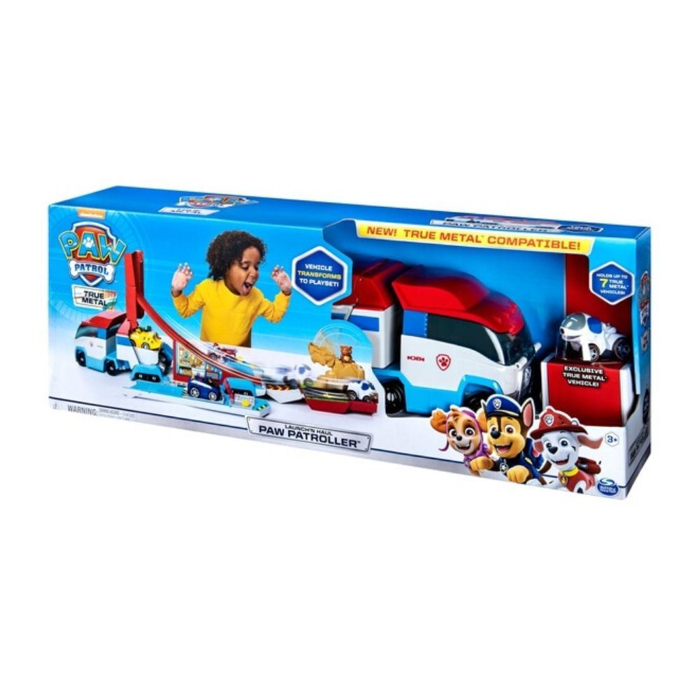 Paw Patrol - Launch'N Haul Patroller Transforming Track Set
