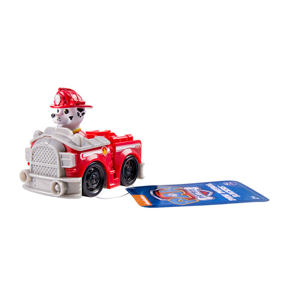 Paw Patrol Rescue Racer Marshall Firefighter