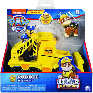 Paw Patrol Ultimate Rescue - Rubble's Bulldozer