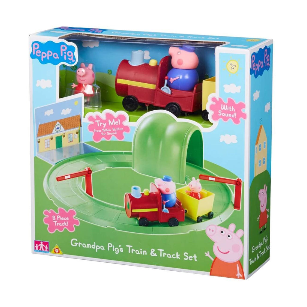 Peppa Pig Grandpa Pig's Train & Track Set