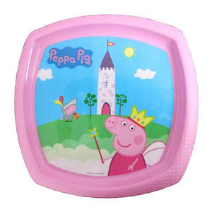 Peppa Pig Square Shaped Plate