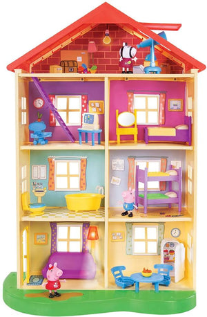 Peppa Pig Family Home With Lights & Sound
