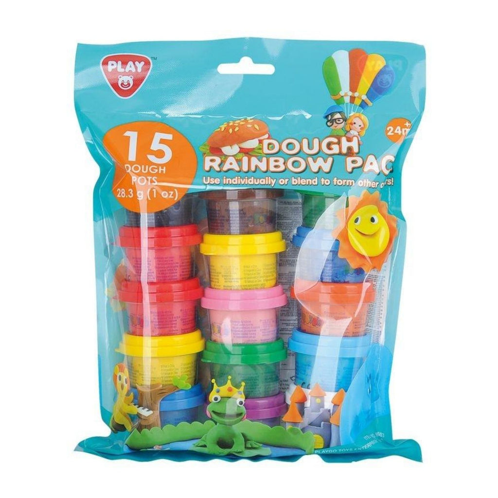 PlayGo Dough Rainbow Pack