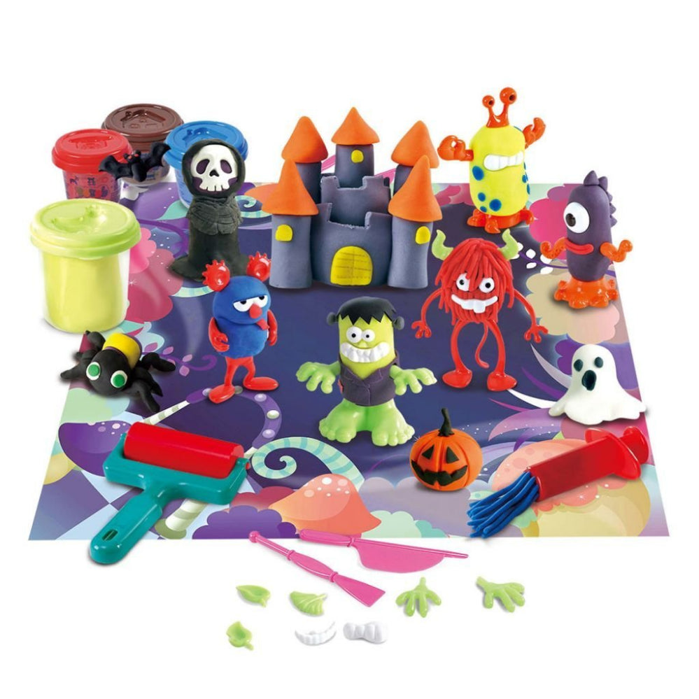 PlayGo Monster Party Dough Playset