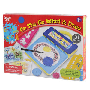 PlayGo On The Go Whirl & Draw (21 PCE)