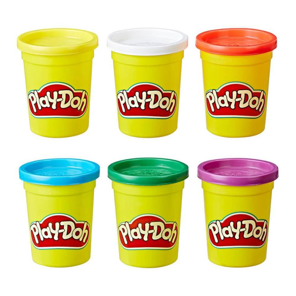 Play-Doh 6 Pack Primary Colours