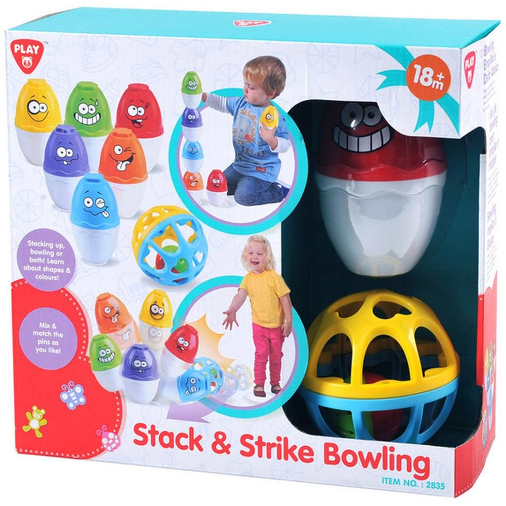 Play Go Stack & Strike Bowling