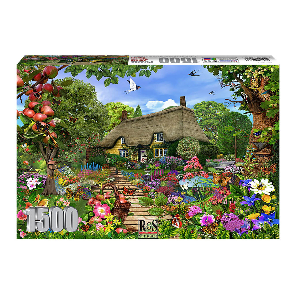 RGS English Cottage Garden 1500pc Adult Puzzle