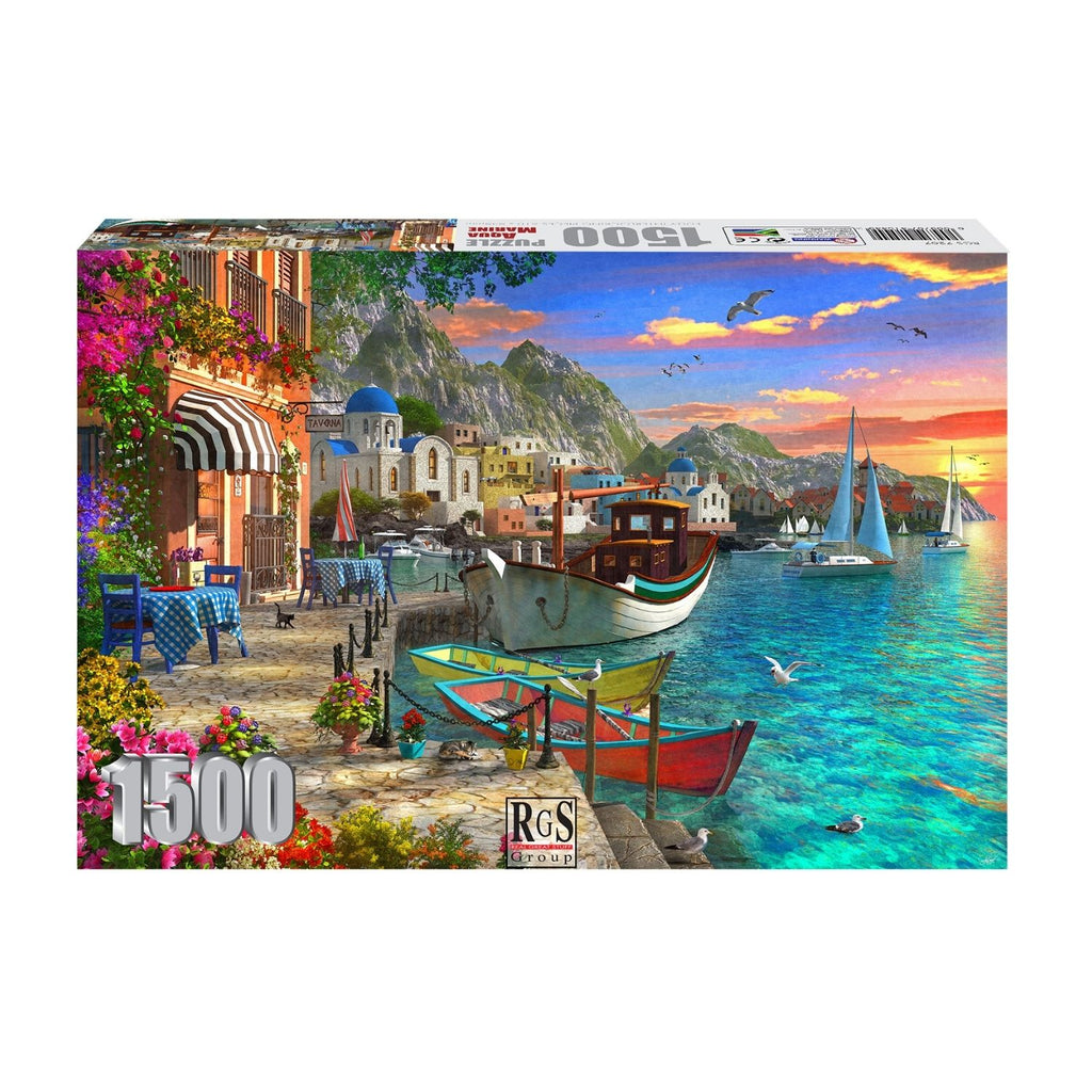 RGS Group Adult Puzzle - Aqua Marine 1500 Piece