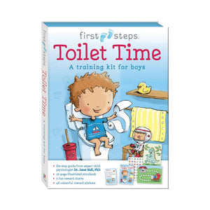 First Steps Ready To Go Toilet Time Training Kit For Boy